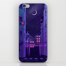 Tokyo Night iPhone Skin