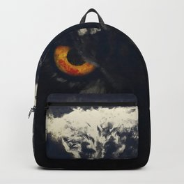 owl look digital painting orcfnd Backpack