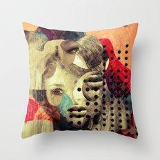 Diven Mix 2 Throw Pillow