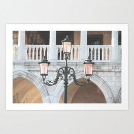 Venice Lights Art Print