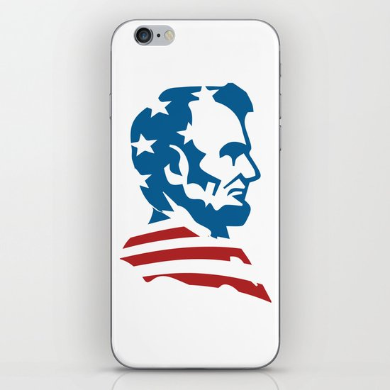 American Abe iPhone & iPod Skin