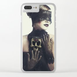 The Widow Clear iPhone Case