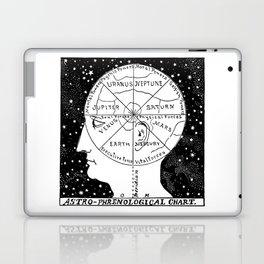 Astro Phrenological Chart Laptop & iPad Skin