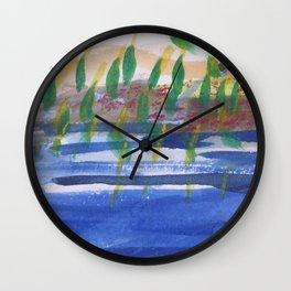 river dancers Wall Clock