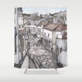Portugal Market Albufeira Shower Curtain