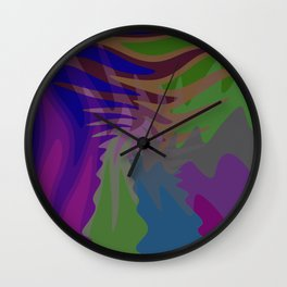 Mystic Fire Wall Clock