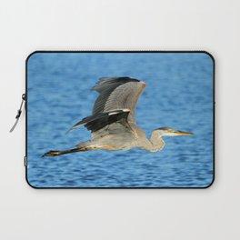 Skimming the lake Laptop Sleeve