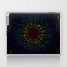 Togetherness- Interwoven Rainbow Texture Laptop & iPad Skin