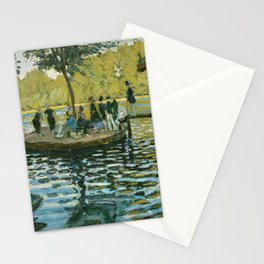 Claude Monet - La Grenouillère Stationery Cards