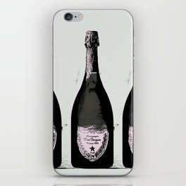 Champagne Pink party Graphic illustration iPhone Skin