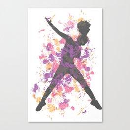 Hip Hop Dancer Canvas Print