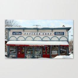 Chagrin Falls Popcorn Shoppe Canvas Print