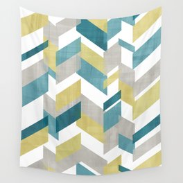 Bright geometrical pattern Wall Tapestry