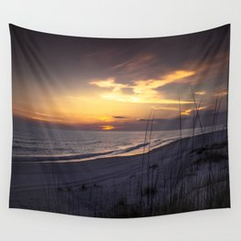 Cape San Blas Sunset  Wall Tapestry