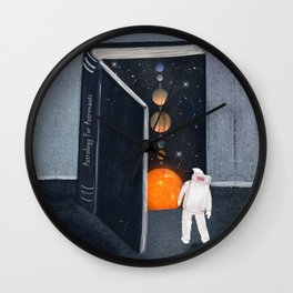 astrology for astronauts Wall Clock