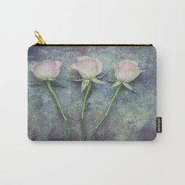 Three Roses II Carry-All Pouch