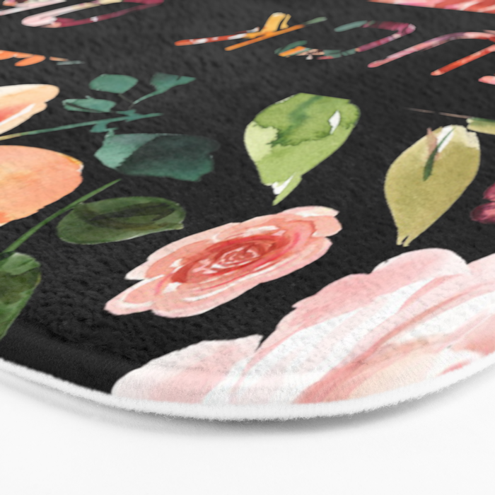 Say it with Flowers: FUCK OFF Bath Mat