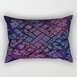 Tibetan Knot/Seed of life  Rectangular Pillow
