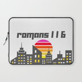 Romans 1:16 Laptop Sleeve