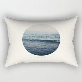In Storm Rectangular Pillow