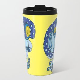 Moonlit Skull Travel Mug