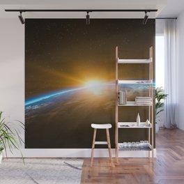 Space (Moon, Sun & Stars) Wall Mural