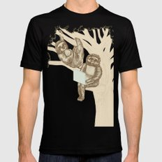 Evolution Black SMALL Mens Fitted Tee