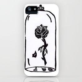Rose under glass iPhone Case