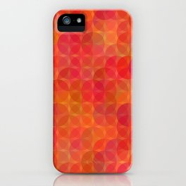 Stained Glass Sunrise iPhone Case