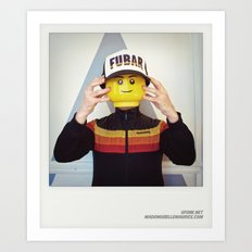 Minifig me ! – Everyone has a LEGO piece inside - 14 Art Print