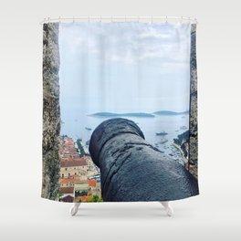 View From Tvrđava Španjola Shower Curtain