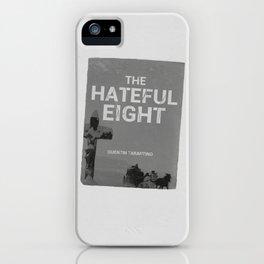 Hateful Eight | Quentin Tarantino iPhone Case