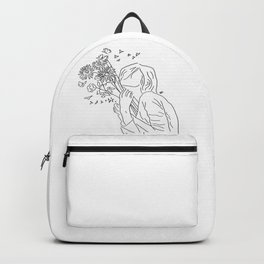 allow yourself to bloom again Backpack