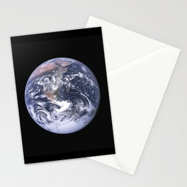 Nasa Picture 4: The earth from the space or the blue marble. Stationery Cards