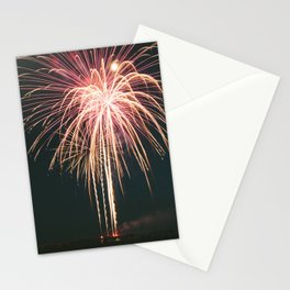 Fireworks Over Lake Michigan in Manistee Stationery Cards