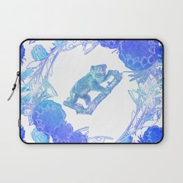 Australian Native Floral Print with Koala Laptop Sleeve