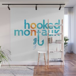 Hooked on Montauk Wall Mural