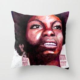 Priestess of Soul Throw Pillow