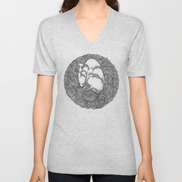 LOST IN HER DREAMS Unisex V-Neck