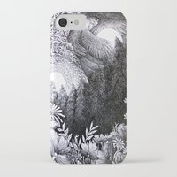 sun and moon iPhone & iPod Cases featuring Sun & Moon by Isobelle Ouzman