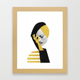 Joan d'or Framed Art Print