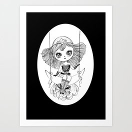 lucky star Art Print