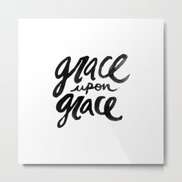 Grace upon Grace Metal Print