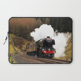 60103 Flying Scotsman at Blea Moor Laptop Sleeve