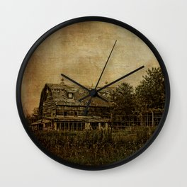 Widmark Farm Wall Clock