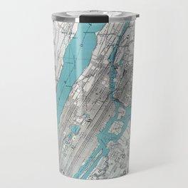 New York 1890 Travel Mug