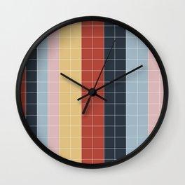Grid in Film Student Wall Clock