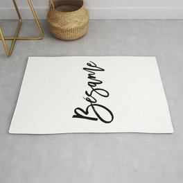 valentines day kiss me spanish besame spanish quote SPANISH WORD Love printable love quote love Rug