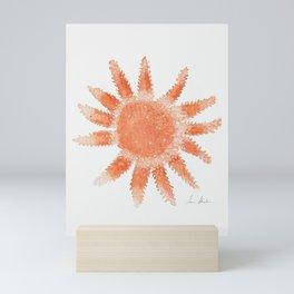 Starfish - Orange Palette Mini Art Print