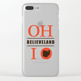 Believeland Clear iPhone Case